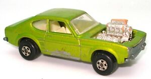 LESNEY-MATCHBOX-NO-67-FORD-CAPRI-HOT-ROCKER-ROLLAMATIC-bh