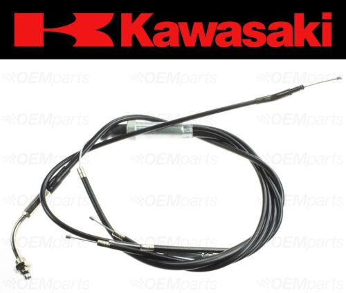 Throttle Cable Set Kawasaki KH250 # KH400 # S1 Mach I # S3 Mach II # 54012-097