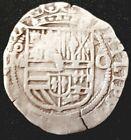 (1556-1598) Philipvs II REAL COB MEXICO Silver Mo - O  Km#26 ERA COB Very Nice!!