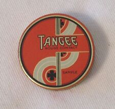 TANGEE tiny tin DECO painted Rouge Compact SAMPLE George W. Luft Co. NY USA