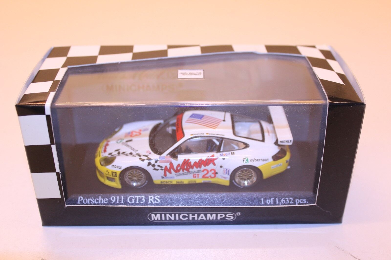 MINICHAMPS PORSCHE 911 GT3 RS Sebring 12hrs 1 43 1 of 1632pcs