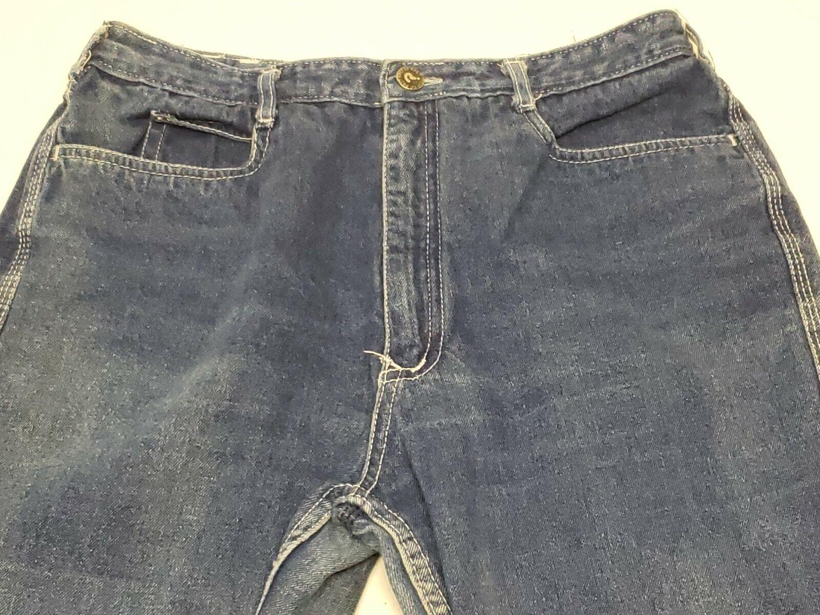 Vintage Nest N'est ce Pas 1970s Denim Jeans High … - image 5