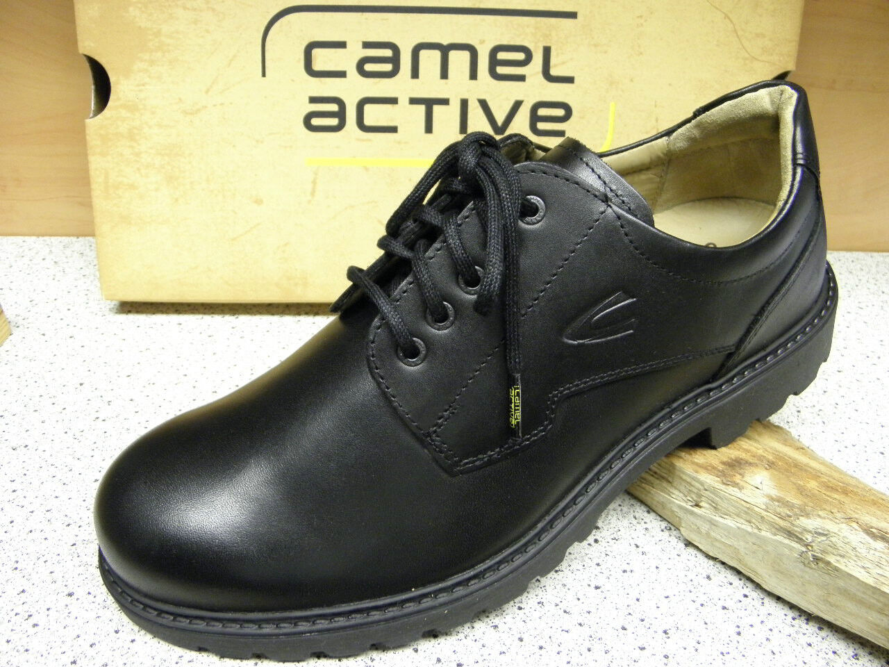 Camel Active ® (C24) reduziert  Outback Negro Lederfutter 400.11.01 (C24) ® Gr. 41 27ffdb