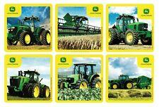 12 John Deere Farm Tractor Stickers Kid Party Goody Loot Bag Filler Favor Supply