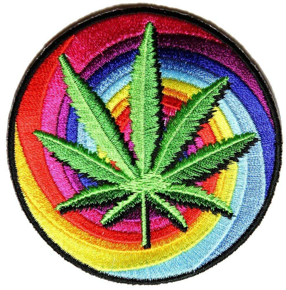 Sweet Leaf Marijuana Patch By Ivamis Trading 3x3 inch P4911 Weed Stoner