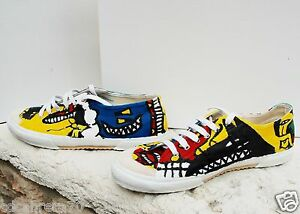 COMME-des-GARCONS-HOMME-PLUS-Hand-Painted-Maccheronian-edition-sneakers-size-27