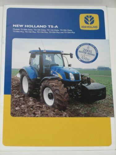 NH 52 New Holland TS-a tractores folleto de 11//2006