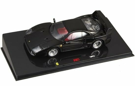 HOT WHEELS ELITE 1 43 FERRARI F40 Nera P9932
