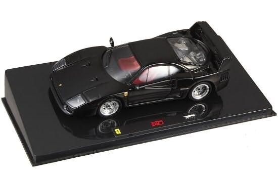 Hot wheels - elite 1 43 ferrari f40 nera p9932