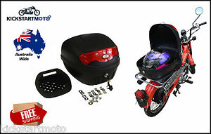 HONDA-CT110-Postie-Bike-30L-Topbox-Rear-Storage-Luggage-Top-Box-CT-110