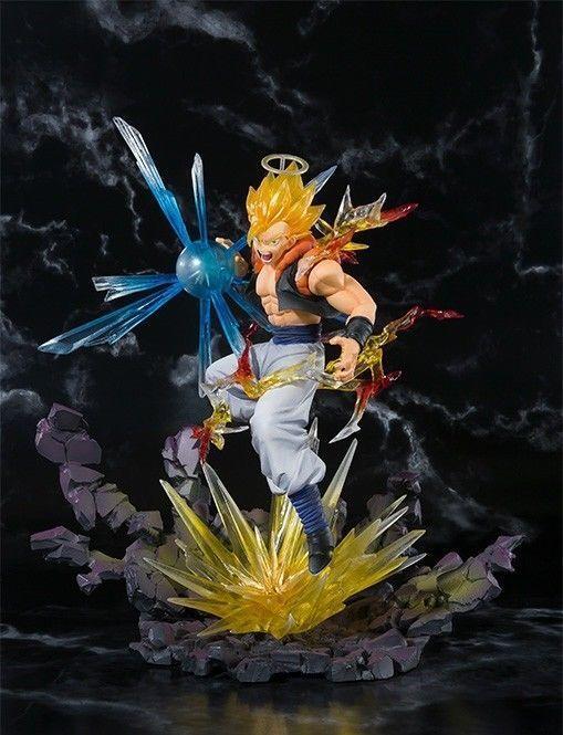 Figuarts Zero Dragon Btutti Z Super Saiyan Gogeta  PVC Statuetta Beai Nuovo Da  il più economico