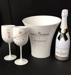 moet chandon ice imperial champagner 0 75l 12 vol 2 mo t becher k hler 3185370457054 ebay. Black Bedroom Furniture Sets. Home Design Ideas