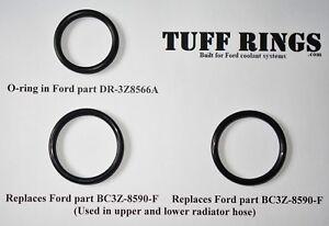 O-Rings for Ford DR3Z8566A (DR3Z8566B) & 2x BC3Z8590F, GUARANTEED FIT!