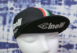 Black Pace Sportswear Cinelli Cycling Cap