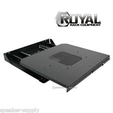 Royal Racks Sliding Base for Audio Video AV Equipment Shelf 12U 16U 21U 42U 1255