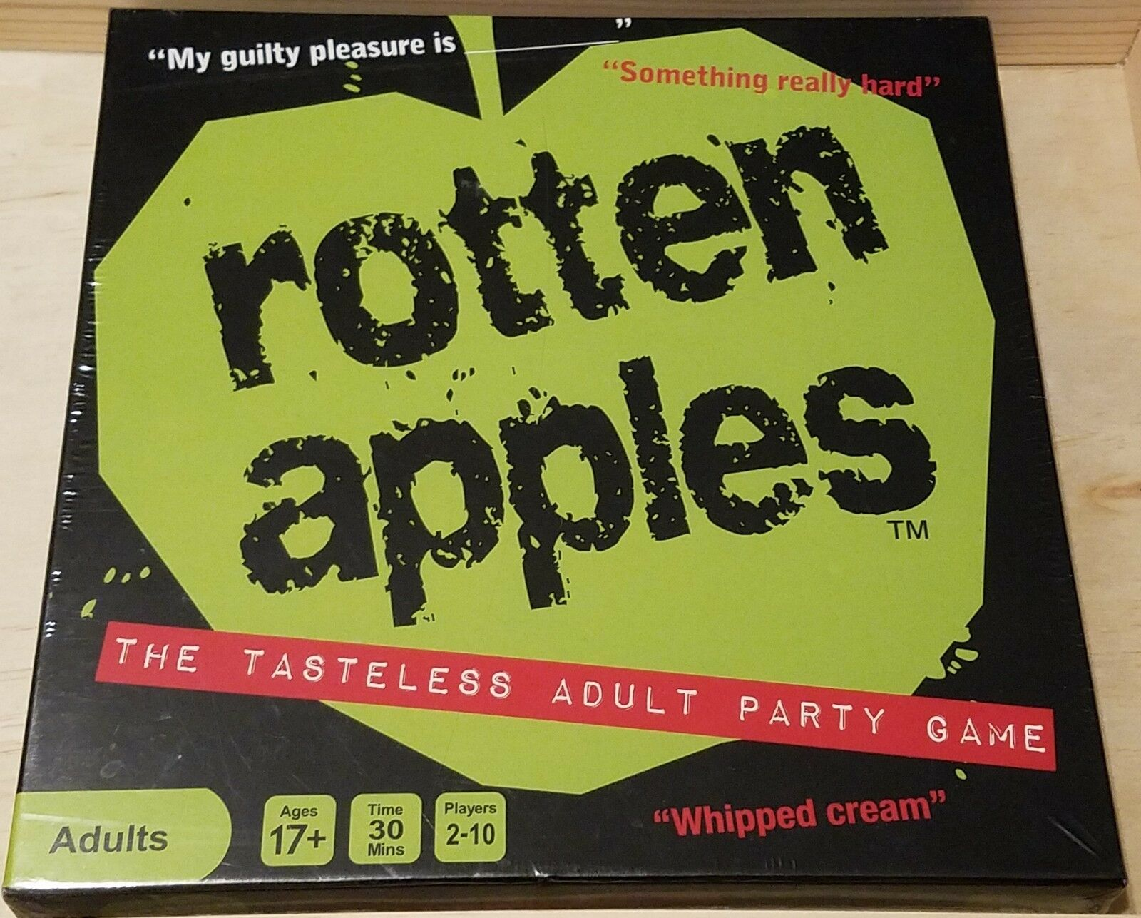 redten Apples  The Tasteless Adult Party Game
