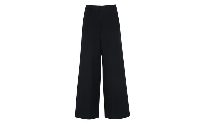 Whistles Tia Cotton Cropped Trouser Navy Größe UK 6 rrp  LF172 KK 06