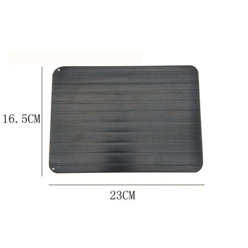 0.2cm Quick Thaw Defrost Plate Aluminum Tray Kitchen Supplies Food Meat Poultry