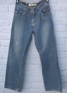 Levi-039-s-559-Relaxed-Coupe-Droite-Vintage-etat-Midwash-Jeans-W31-L32