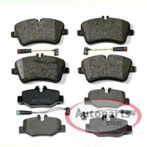 Bremsbeläge mit Warnkontakten MB Sprinter W906 Satz für vorne und hinten