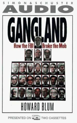 *NEW* GANGLAND : HOW THE FBI BROKE THE MOB  Sealed Audiobook Cassette NonFiction