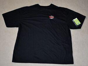 Coors-Light-Vansport-Men-039-s-Tech-Short-Sleeve-T-Shirt-Black-Size-L-NEW