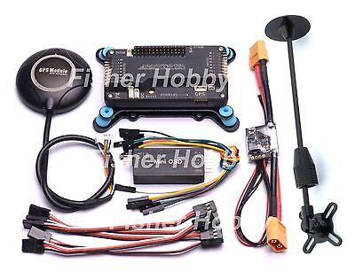 APM2.6 side pin + NEO 7M GPS / Stand + Shock Absorber Power Module + Minim OSD