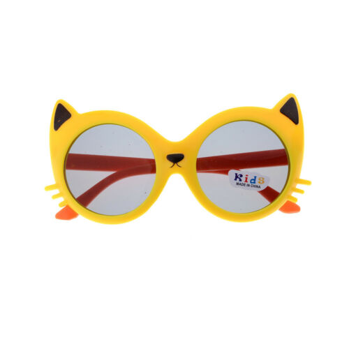 Girls Boy 5 Colors Cartoon Cat Anti UV400 Eyeglasses Toddler Baby SunglassesH/_ne