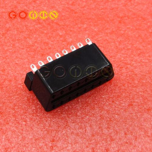 OBD2 16 PIN Female Connector Plug Universal Auto Diagnostic Cable Adapter Plug