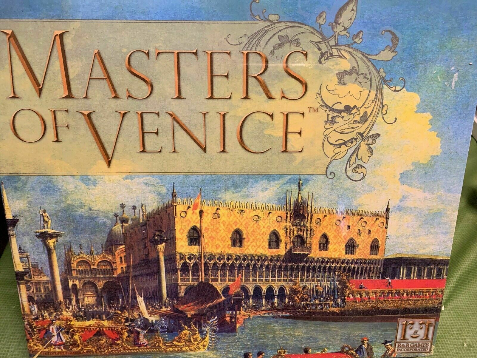 Masters Of Venice Board Juego - NEW SEALED