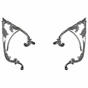Alchemy-Gothic-Arboreus-Elf-Floral-Wrap-Around-Pewter-Ear-Frame-Earring-Set