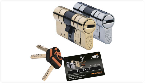ABS Avocet Door Lock 3 Star TS007 High Security Cylinder UPVC Anti Snap - 3 Key