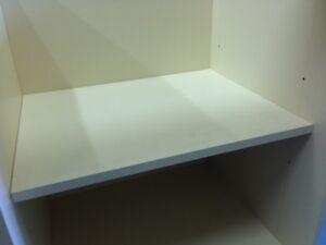 Carcase Shelf Kit Replace Broken Damaged Shelf In Kitchen Units White Various Ebay