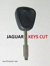 JAGUAR TIBBE CAR KEY CUT TO CODE - PHOTO  XJS - XJR - XJ12 - XJ6 - NOT A BLANK