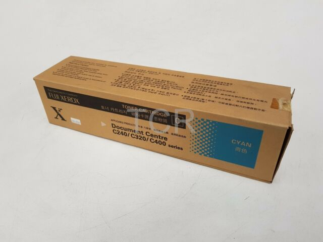 Fuji Xerox Genuine CT200207 Toner Cartridge Cyan to suit C240 C320 C400