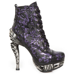 New-Rock-NR-M-MAG016-S25-Lilac-Boots-Magneto-Women