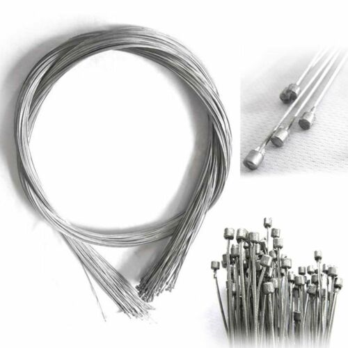 10pcs Road Bike MTB Gear Bicycle Brake Line Shifter Core Inner Cable Wire 2M