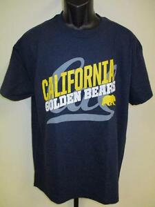 Nuevo-Cal-California-Dorado-Bears-Hombres-Talla-L-Grande-por-Majestic-T-Shirt