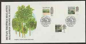 F165-MALAYSIA-1992-TROPICAL-FOREST-FDC