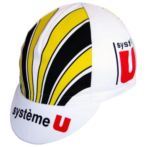 Italian made Retro fixie Brand new System U Cycling cap