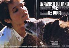 Coupure de presse Clipping 1998 Helène Grimaud    (6 pages) danse avec les loups