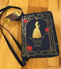 Belle Beauty And The Beast Live Action Film Purse Costume Book Blue Disney
