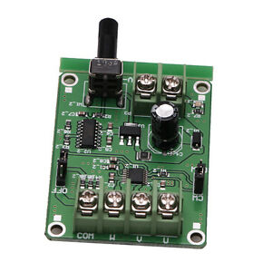 DC-Brushless-Driver-Board-Controller-5V-12V-For-Hard-Drive-Motor-3-4-Wire-New