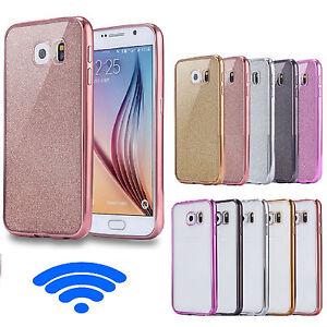 A-Prueba-De-Choques-Lujo-Metal-Efecto-Parachoques-Funda-Gel-para-Samsung-Galaxy