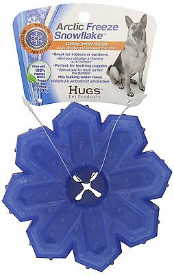 Hugs Pet Products Arctic Freeze Snowflake Chew Toy Non-Consumable