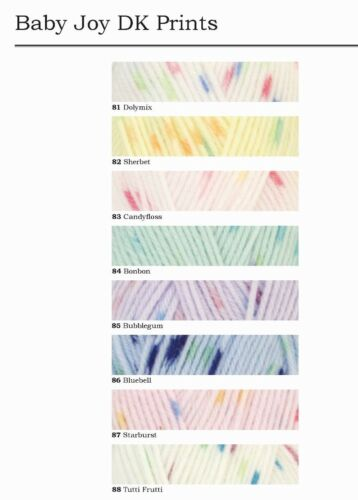 Acrylic /& Polymide DY Choice Baby Joy DK Prints 1 x 50g