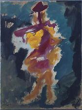 Cuban Artist Painter, Rafael Lorzano Original/ Oil on Board/ Framed