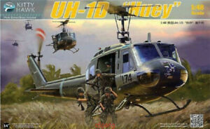 Kitty-Hawk-80154-1-48-UH-1D-034-Huey-034-Hot
