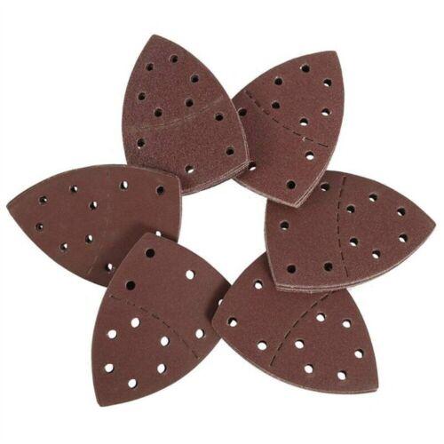 Pads Abrasive Paper Detail Palm Sander Mouse Sanding Sheets For Bosch PSM 100A