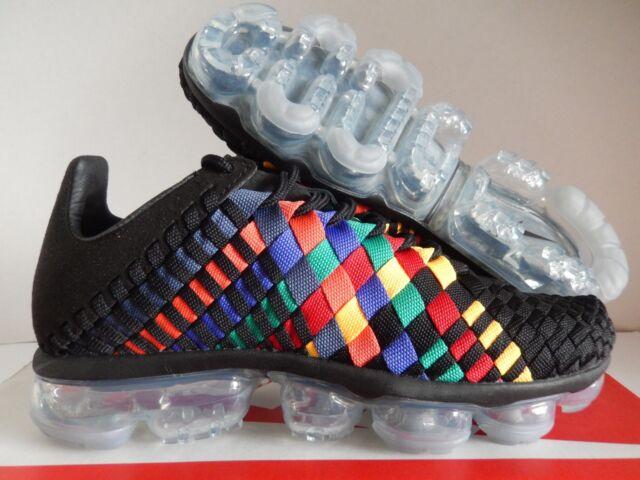 Nike Air Vapormax Inneva Black Glacier Blue Ao2447-001 Mens Size 11 ... 3f45a59b2